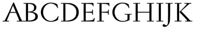 Jannon Antiqua Font UPPERCASE