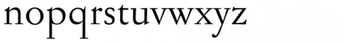 Jannon Antiqua Font LOWERCASE