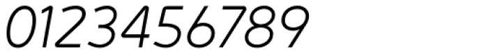 Jano Sans™ Pro Light Italic Font OTHER CHARS