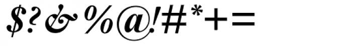Janson MT Bold Italic Font OTHER CHARS