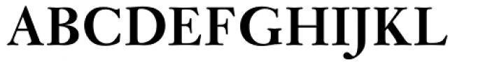 Janson MT Bold Font UPPERCASE