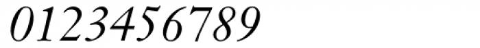 Janson MT Italic Font OTHER CHARS