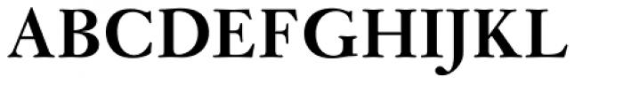 Janson Pro Bold Font UPPERCASE