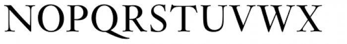 Janson Pro Regular Font UPPERCASE
