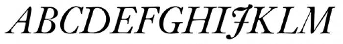 Janson SB Italic Font UPPERCASE