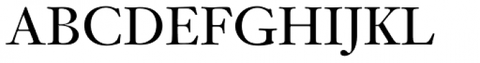 Janson SB Roman Font UPPERCASE