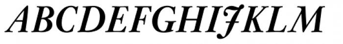 Janson Std Bold Italic Font UPPERCASE