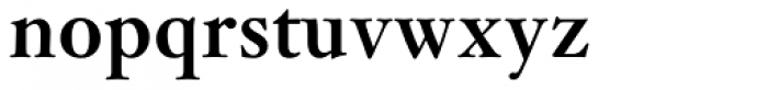 Janson Std Bold Font LOWERCASE