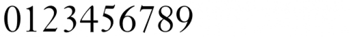 Janson Std Regular Font OTHER CHARS