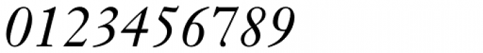 Janson Text 56 Italic Font OTHER CHARS