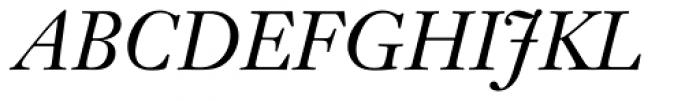Janson Text 56 Italic Font UPPERCASE