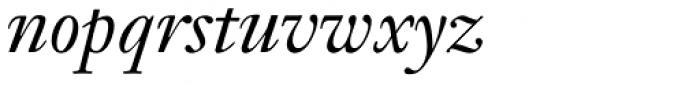 Janson Text 56 Italic Font LOWERCASE