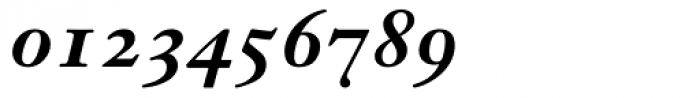Janson Text 76 Bold Italic Oldstyle Figures Font OTHER CHARS