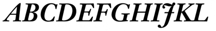 Janson Text Bold Italic Font UPPERCASE