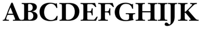 Janson Text Bold Font UPPERCASE