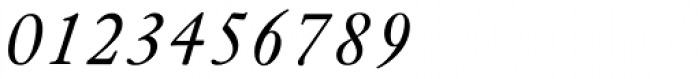 Janson URW Italic Font OTHER CHARS