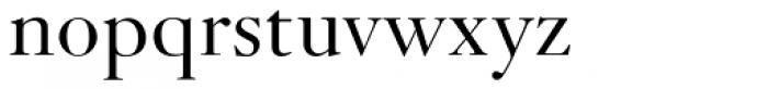 Janson URW Light Font LOWERCASE