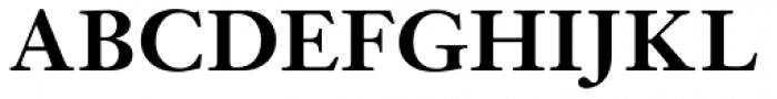 Janson URW Medium Font UPPERCASE