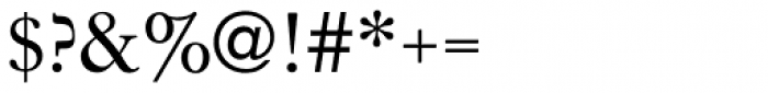 Janson URW Regular Font OTHER CHARS