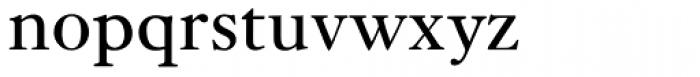 Janson URW Regular Font LOWERCASE