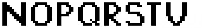 Jansta Bold Font UPPERCASE