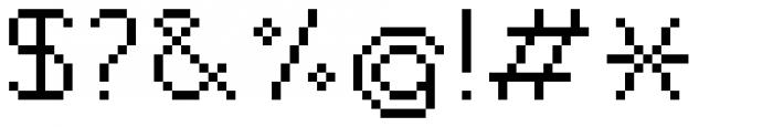 Jansta Regular Font OTHER CHARS