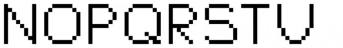 Jansta Regular Font UPPERCASE