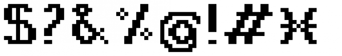 Jansta Serif Bold Font OTHER CHARS