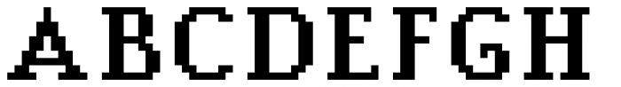 Jansta Serif Bold Font UPPERCASE