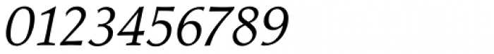 Jante Antiqua Std Italic Font OTHER CHARS