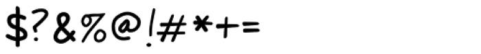 Jantze Font OTHER CHARS