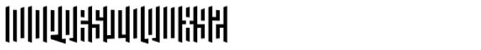 Janus Italic Font UPPERCASE
