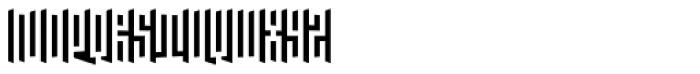 Janus Right Font UPPERCASE