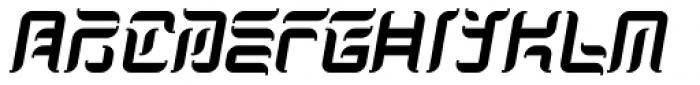 Japan Knees Font UPPERCASE