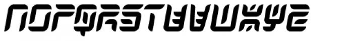 Japan Knees Font LOWERCASE