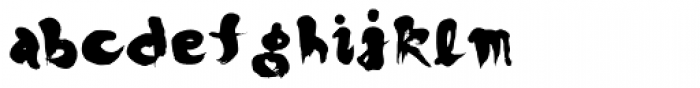 Japoneh Font LOWERCASE