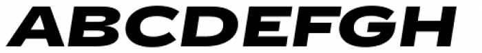 Jasan Wide Black Italic Font UPPERCASE