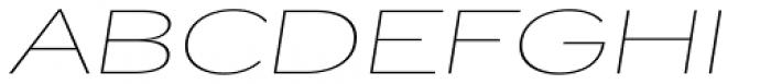 Jasan Wide Thin Italic Font UPPERCASE