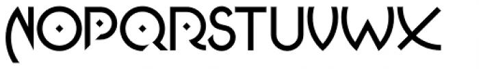Jasmin Medium Font UPPERCASE