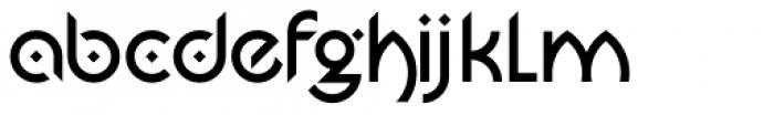 Jasmin Medium Font LOWERCASE