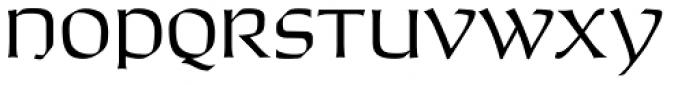 Jason Uncial Regular Font LOWERCASE
