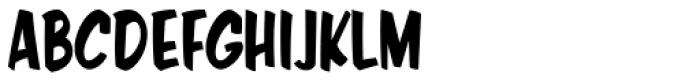 Java Jive Condensed Font UPPERCASE