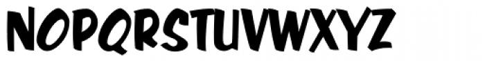 Java Jive Regular Font UPPERCASE