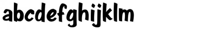 Java Jive Regular Font LOWERCASE