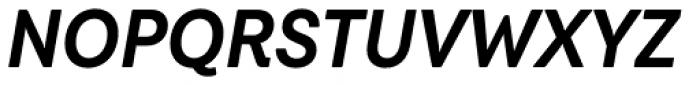 Javiera Bold Italic Font UPPERCASE