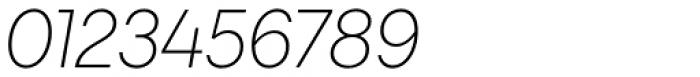 Javiera Light Italic Font OTHER CHARS