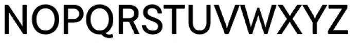 Javiera Medium Font UPPERCASE