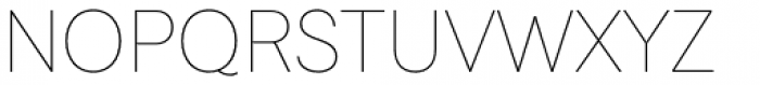 Javiera Thin Font UPPERCASE