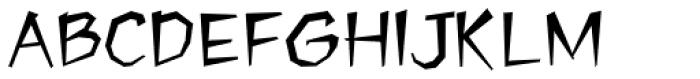 Jawbreaker Font UPPERCASE