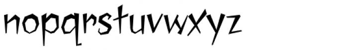Jawbreaker Font LOWERCASE